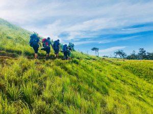 Trekking ở Tà Năng Phan Dũng